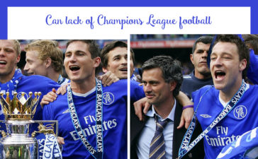Chelsea,Champions League and Premier League,