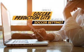 How is a soccer prediction site related to soccer betting?